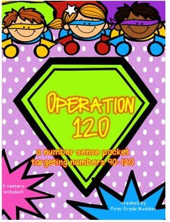 http://www.teacherspayteachers.com/Product/Operation-120-A-Number-Sense-Packet-Targeting-Numbers-90-120-5-Centers-1147697