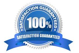 Customer Satisfaction Guaranty