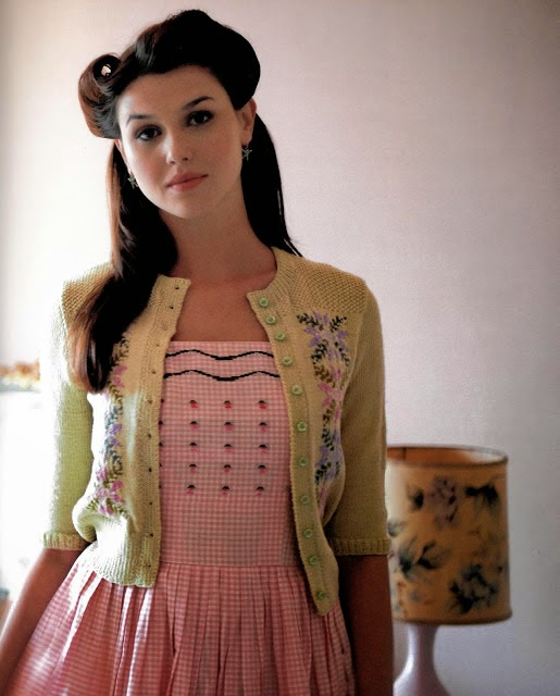 cardigan-vintage-années 50-mode