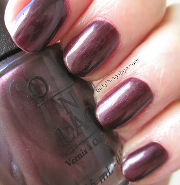 OPI nail lacquer, Vampsterdam, girlythingsby_e