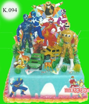 Kue Ulang Tahun Power Rangers