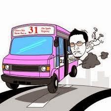 balik,kampung, bas, selamat, tinggal