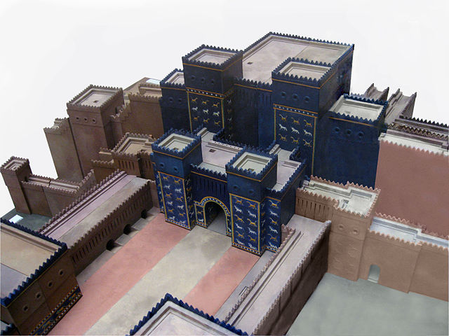 vrata boginja ištar v babilonu
