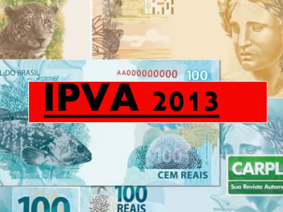 PVA 2013 PR - Tabela, Valor, Consulta