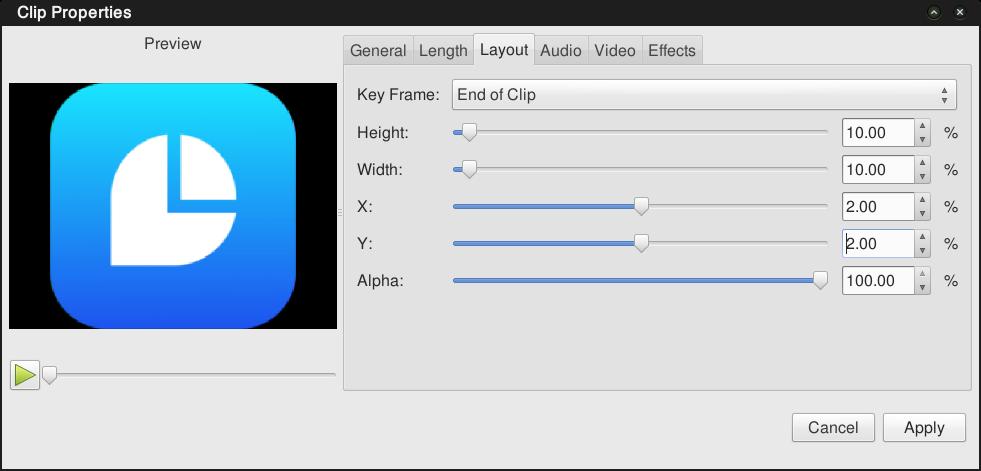MUMULALA: Cara membuat logo watermark video di Openshot