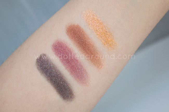Neve cosmetics artcircus ombretto swatch