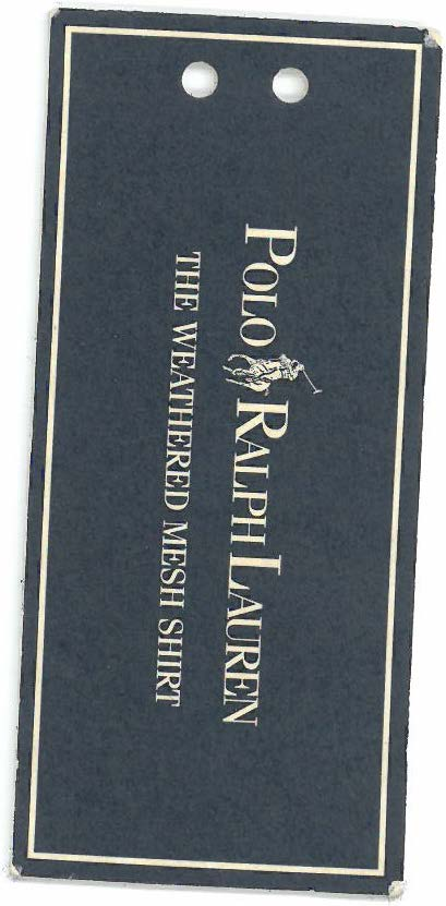 Ralph Lauren Polo Tag