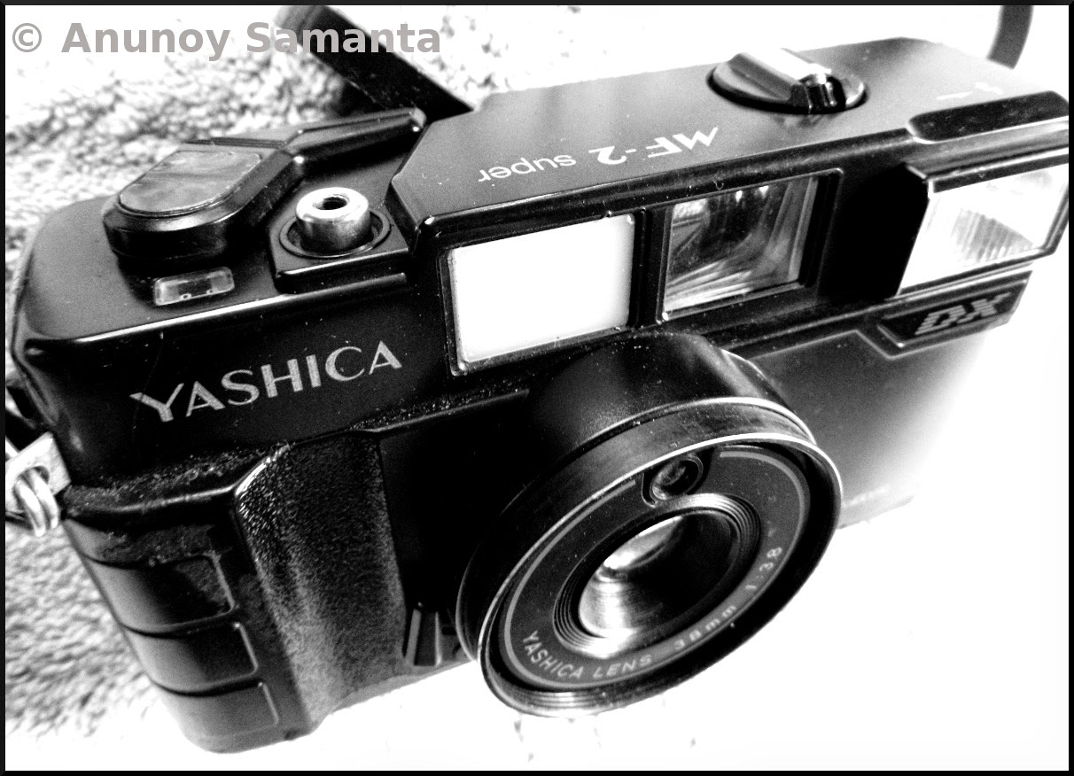 Good old Yashica MF-2 Super DX in black and white