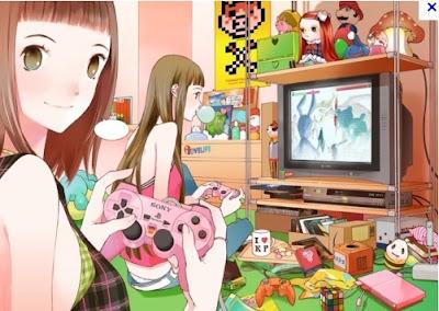 Anime Game Girls