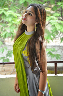 Actress Prayaga Martin Latest Picture Gallery at Pisachi Movie Success Meet 008.JPG