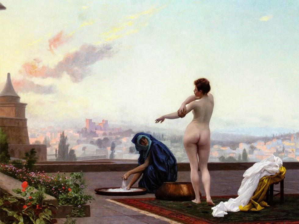 Bethsabee de Jean-Léon Gérôme (1889)