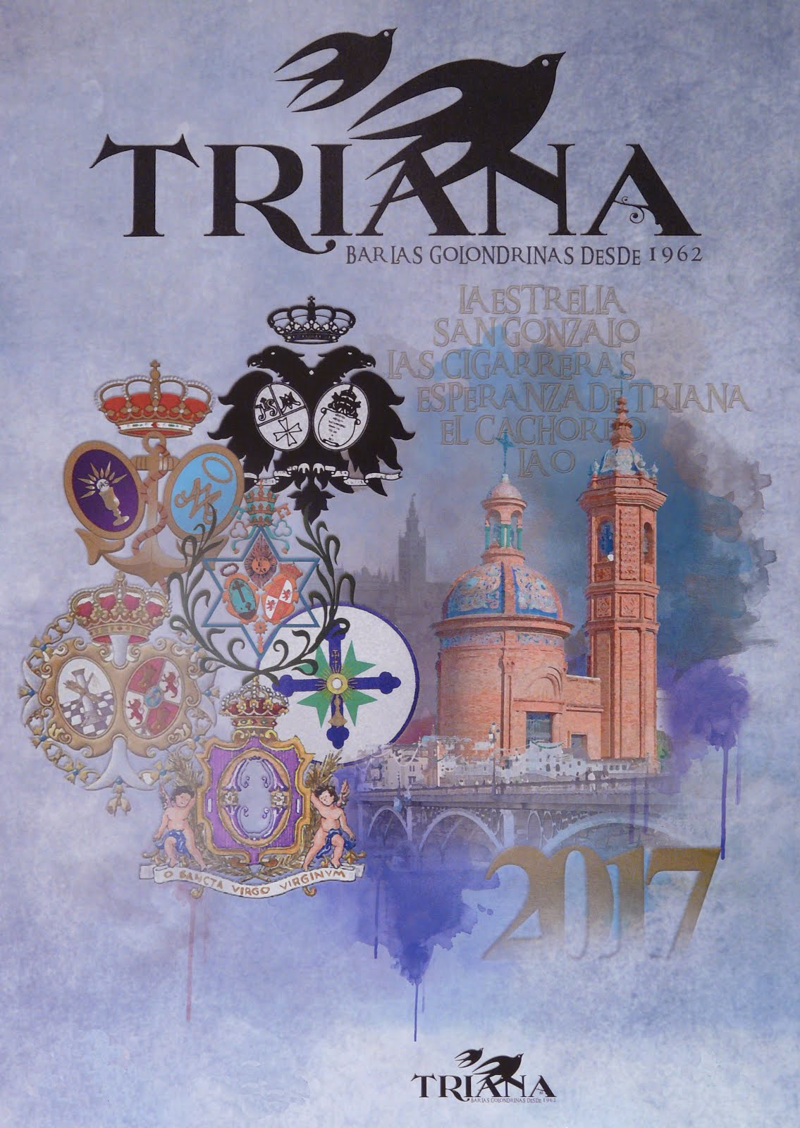 "Calendario 2017 ""Las Golondrinas"" Triana"