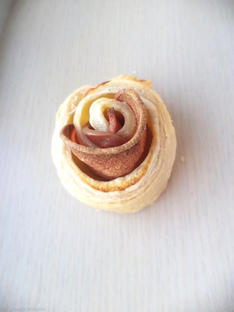Trandafiri aperitiv din foietaj