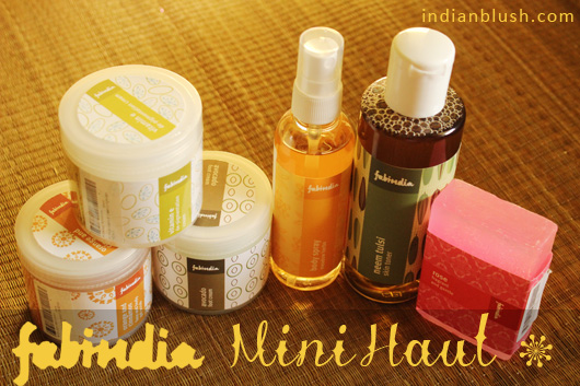 Fabindia Mini Weekend Haul of Personal Care Products in Summer