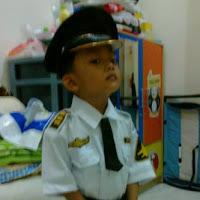 baju pilot anak