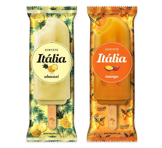 Packaging design inspiration #10 - Sorvete Italia by Fernanda Schmidt