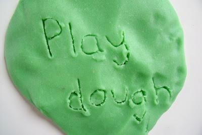 Using Playdough for Fine Motor Practise