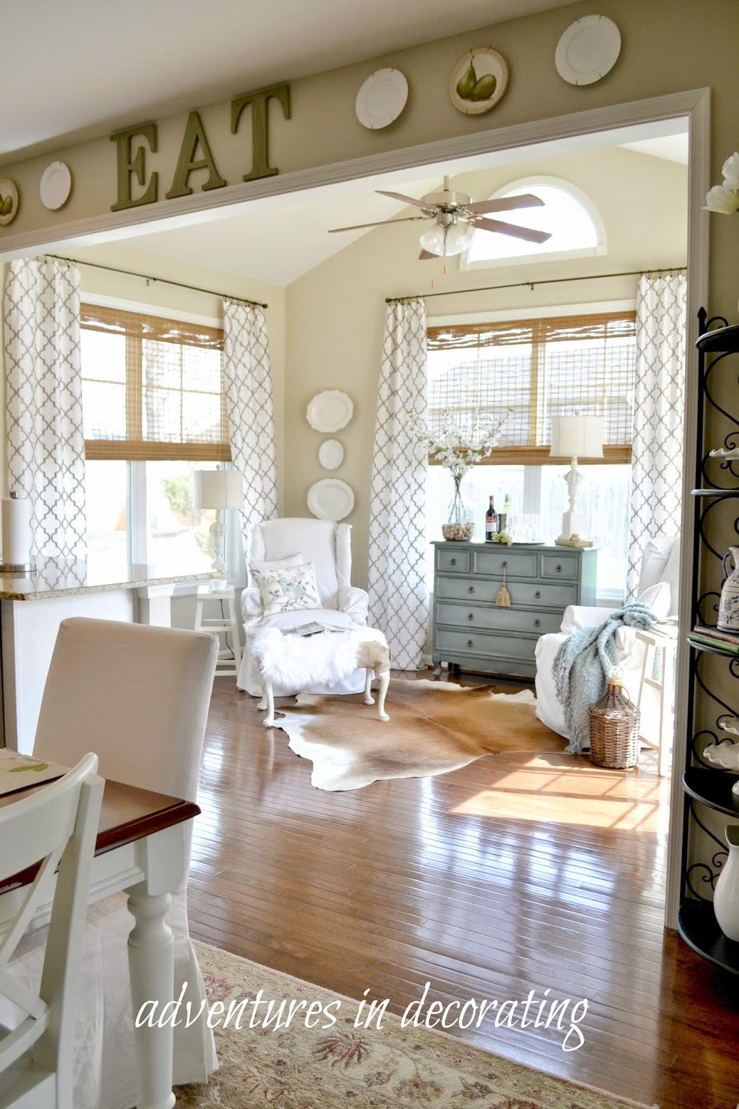 Adventures in decorating - Sunroom off kitchen design ideas ...