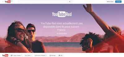 Débloquer Youtube Red hors des États-Unis depuis France