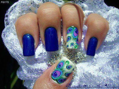 Diseño y Decoración de Uñas-unhas-nails Blue - Azules 2016-2017
