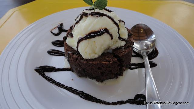 Brownie no Restaurante Calexico - Punta del Este, Uruguai