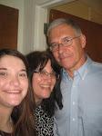 Hubby, Myself and Lauren!
