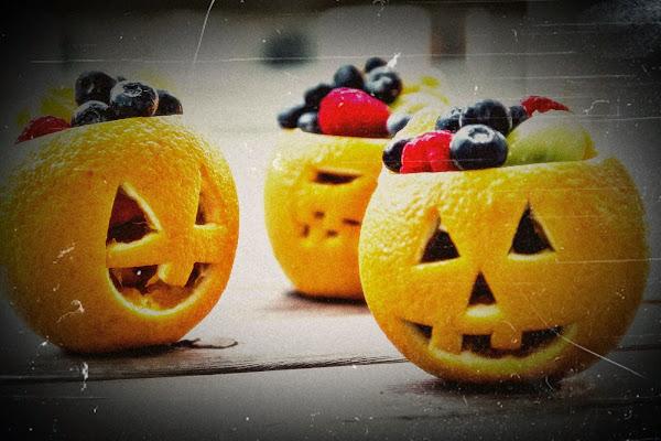 Especial Halloween - Naranjas Terrorificas - Receta para niños