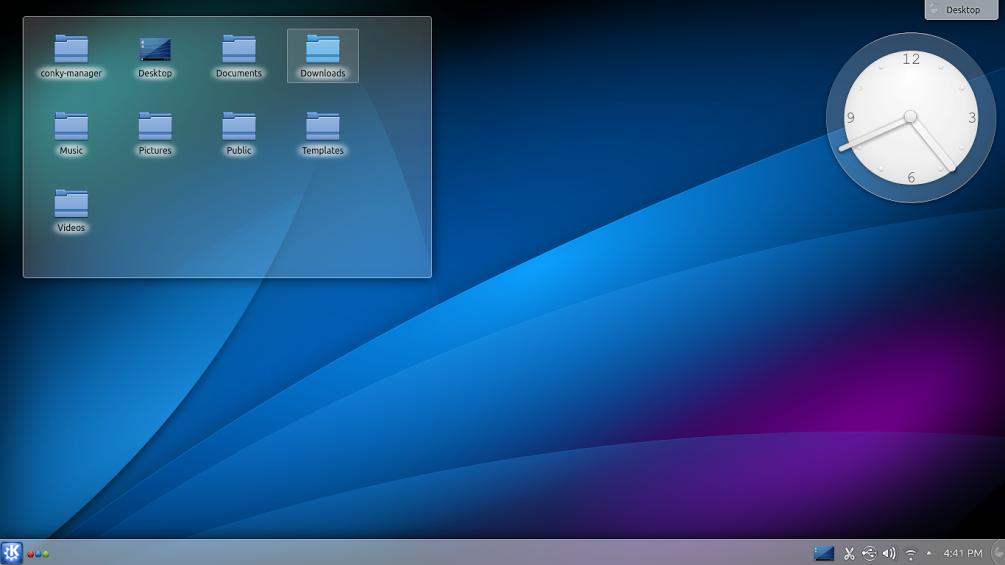 Kubuntu 14.04 LTS desktop