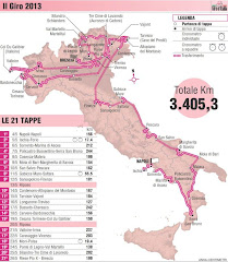 GIRO D&#39;ITALIA 2013 - TUTTE LE INFO