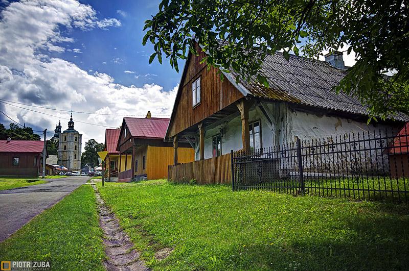 Zabudowa drewniana w Kalwarii Pacławskiej