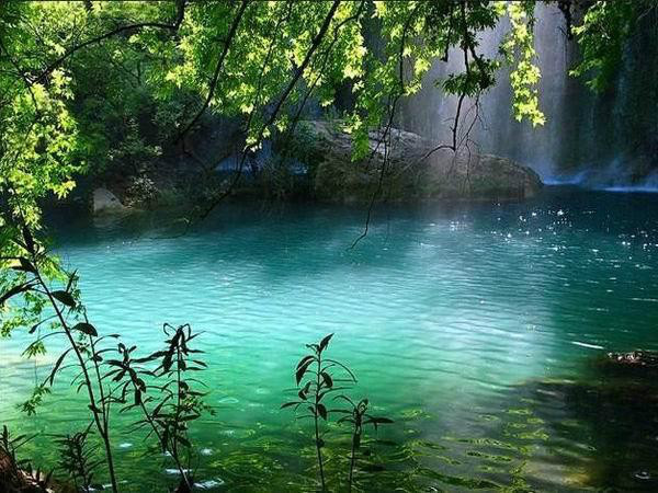 Peaceful enviroment can quiet the troubled heart