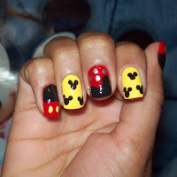 Unhas do Mickey