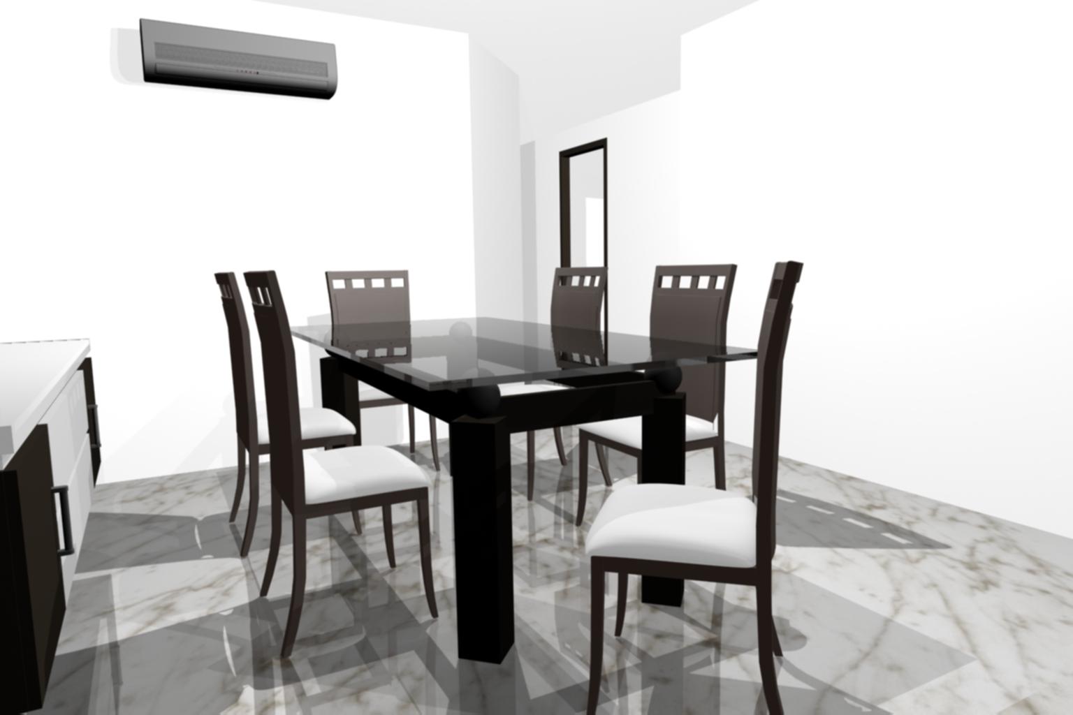 Comercial cobala s a comedores - Muebles de vidrio ...