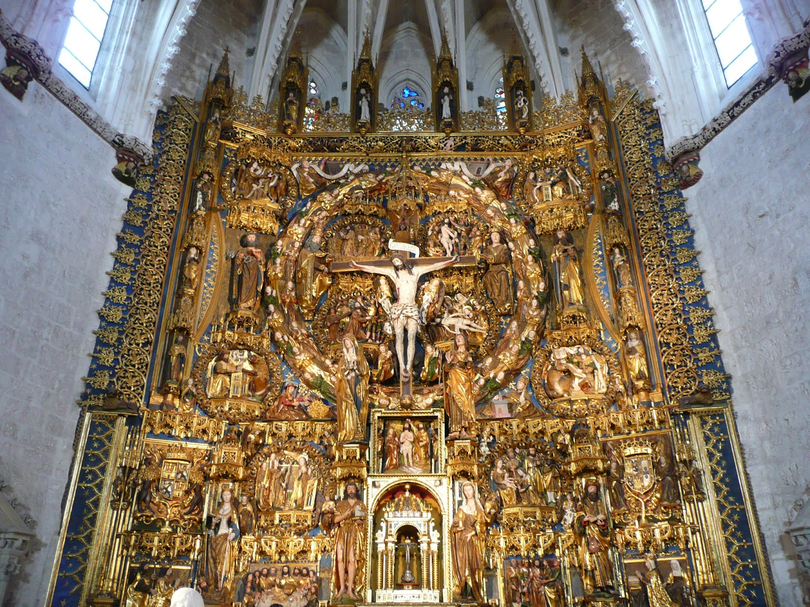 Lugares sacros la trinidad en el retablo de la cartuja de - La isla dela cartuja ...