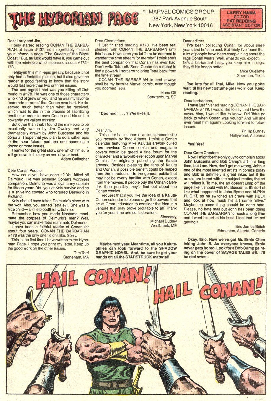 Conan the Barbarian (1970) Issue #182 #194 - English 25