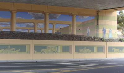 3d street art - 3d art - illusion art 3 d - painting