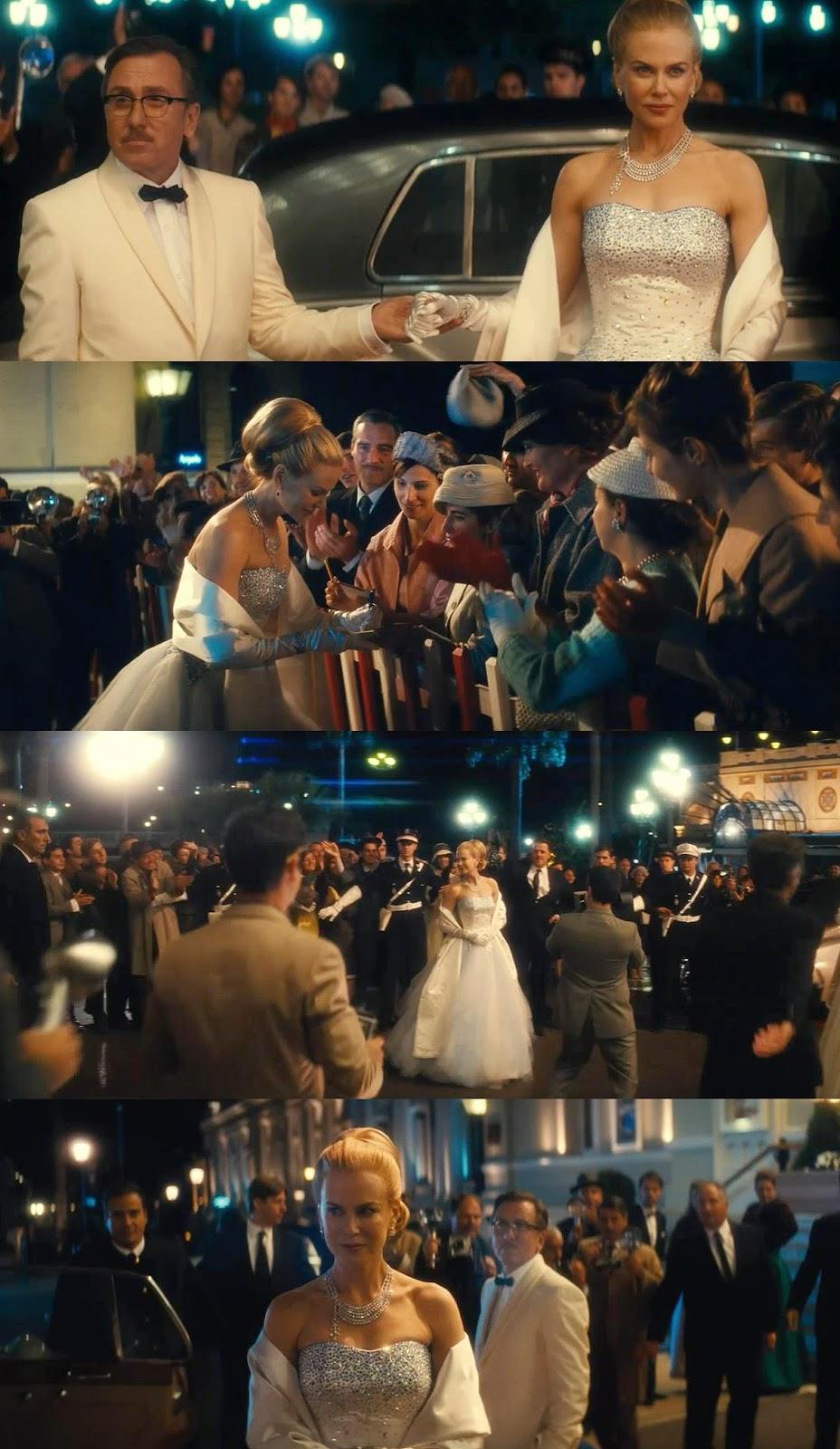 Garderoba filmowa, Filmowe stylizacje, ubrania z filmów, Grace of Monaco, Księżna Monako, sukienki, dress, stylizacje, clothes,