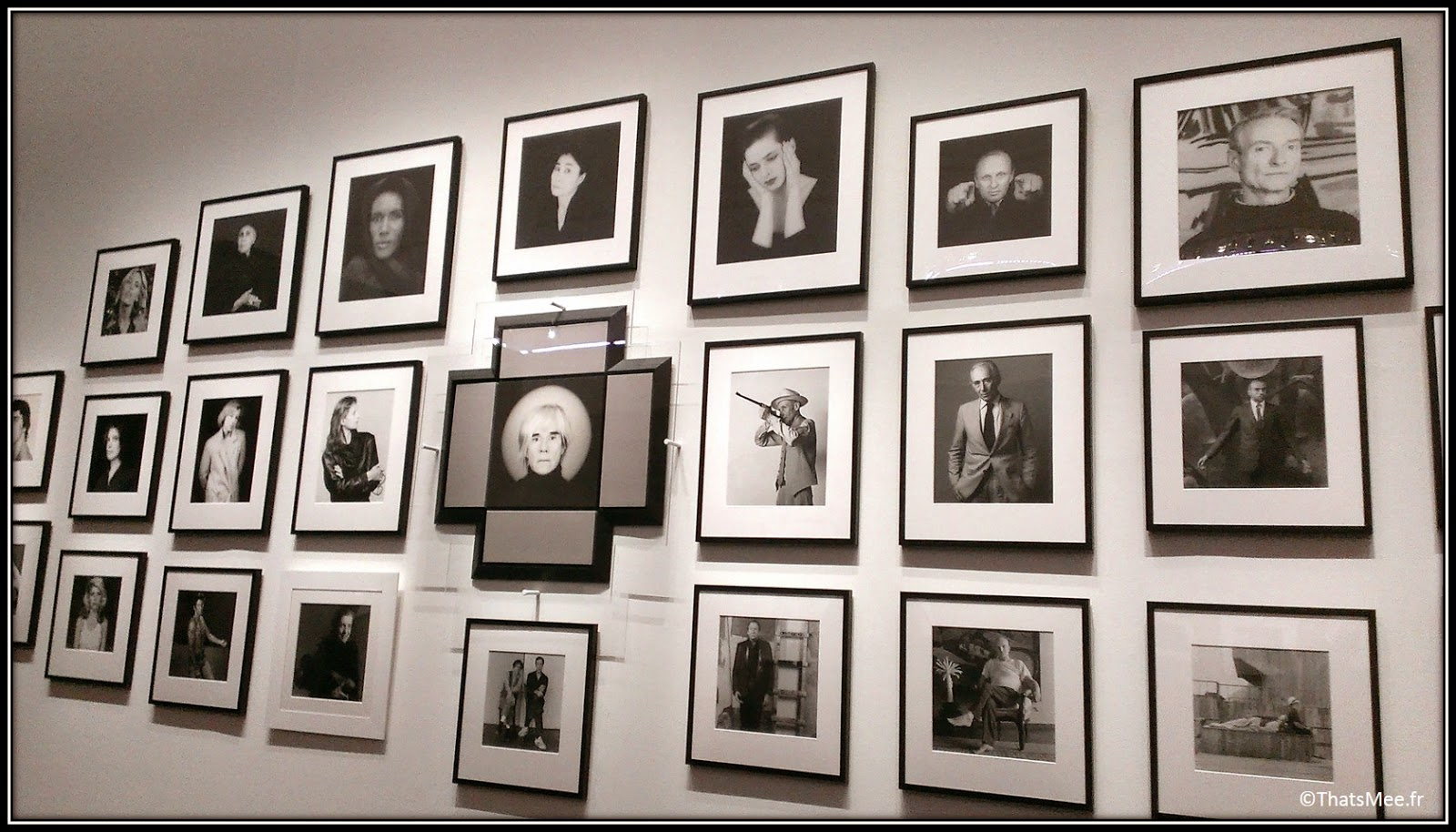 Galerie portraits Expo Robert Mapplethorpe  Grand Palais Paris debbie Harry iggy Pop Andy Warhol stars Patti Smith
