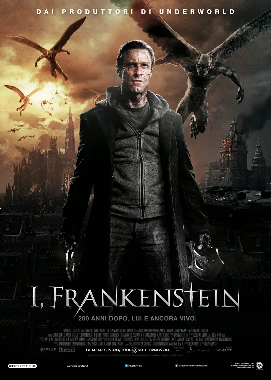 ver pelicula  I, Frankenstein online gratis