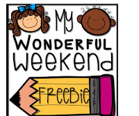 https://www.teacherspayteachers.com/Product/My-Wonderful-Weekend-2192558
