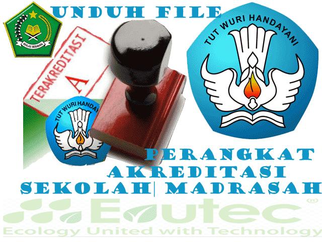 Perangkat Akreditasi Sekolah Madrasah Tahun 2016 Jenjang