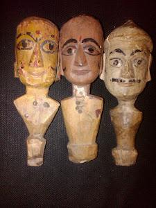 antichi burattini indiani