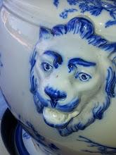 Mitt blåa lejon
