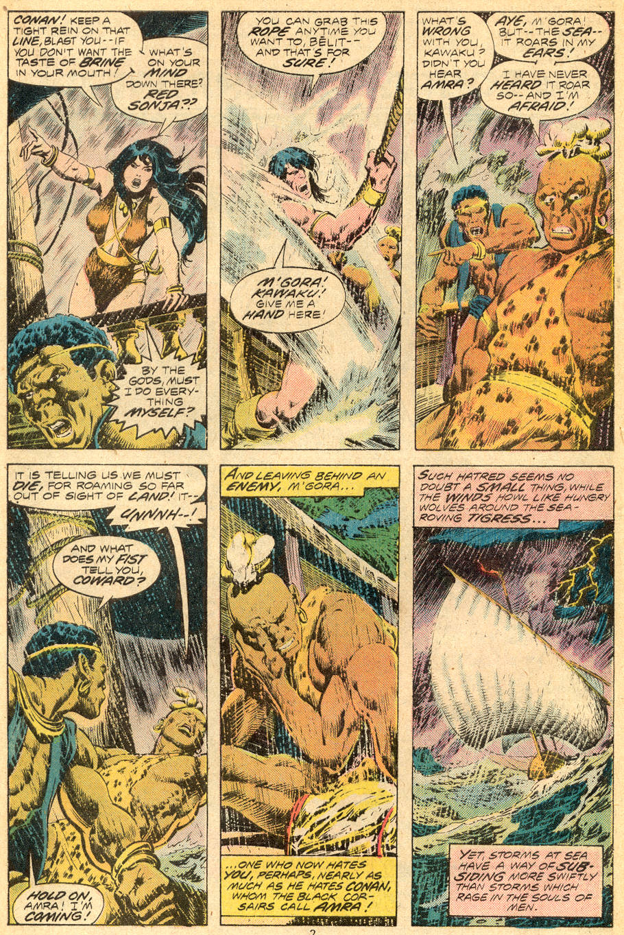 Conan the Barbarian (1970) Issue #70 #82 - English 3