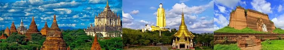 รีวิวเที่ยวพม่าด้วยตนเอง มัณฑะเลย์ โมนยวา พุกาม
