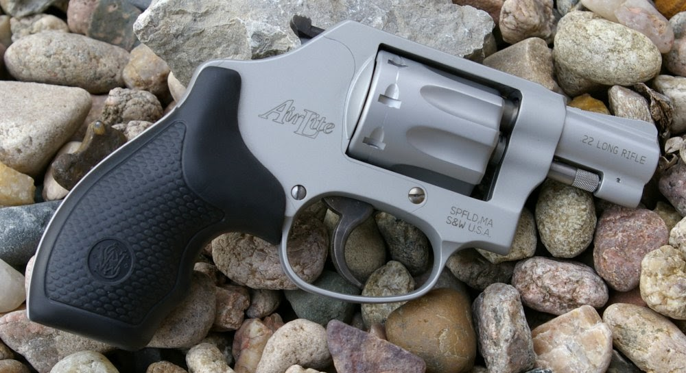 Smith Wesson Airlite 317 22lr Revolver Review