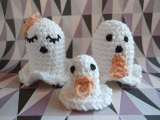 Opskrift på hæklede spøgelser