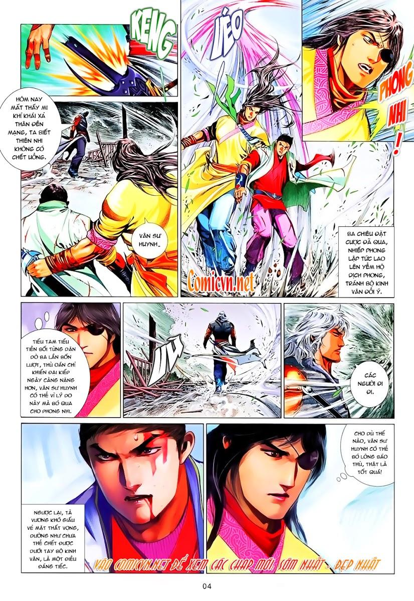 Phong Vân chap 645 Trang 4 - Mangak.info