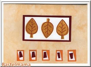 Blätter trio