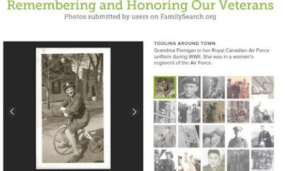 FamilySearch Honors the Fallen - Veterans Day 2015